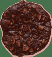 Teja de almendra con cacao