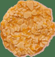Teja de almendra con naranja